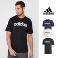 Adidas 黑/白/藍 短袖T恤 純棉 運動 休閒 訓練 素色 文字 上衣 短T 基本款 Logo DU0404/DQ3056/DU0406