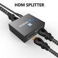 【美國代購】Hdmi Switch Splitter - 1對2 HDMI切換 for Full HD 1080P/4K/3D Support iPad, PS4, xBox