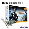 圓剛 C027 HDMI高畫質擷取卡 1080i高畫質擷取及播放