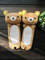 輕鬆熊可愛卡通毛絨汽車安全帶護肩(現貨+預購)