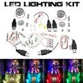LED Lighting Kit ONLY For Lego 71040 Disney Castle Bricks Toys With Spotlights