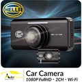 [NEW] HELLA Car Camera 2CH 1080P FHD | WiFi | SD Card DR820