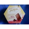 德國Feodora 賭神巧克力 60% 30 片大盒裝 225g, 預購