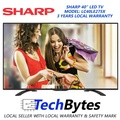 Sharp 40 inch LED TV LC40LE275X 3 Years Agent Warranty Digital TV DVB-T2