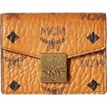 GPL/ MCM Womens Patricia Visetos Accordion Card Mini Wallet Cognac Wallets/ship from USA - intl