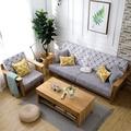 高密度海綿墊定做加厚加硬沙發墊布藝坐墊實木紅木飄窗墊坐椅墊子wyI1