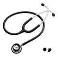 SPIRIT 雙面聽診器(鋁製) 黑(CK-601P-02)