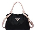 b43b324a1c0f Aisa Extremely Elegant Tote Bag Shine Pure Color Handbag Imported  Waterproof Nylon Shoulder Bag Size