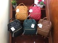 ANELLO QUILTING MINI BACKPACK