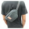 E.City_(大款)旅行多功能防潑水防盜貼身胸包腰包