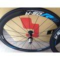 全新 SAGA W-50RR 碳纖輪組 OPEN胎專用 /碳纖/碳纖維/輪組/版輪/高框/管胎 全新