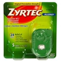 [Direct from USA] Zyrtec Allergy Relief (10 mg), 5 Tablets