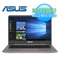 ASUS 華碩 UX410UQ-0051A 14吋 輕薄筆電 石英灰