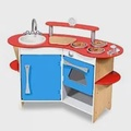 美國 Melissa & Doug 木製玩食趣 – 小廚師的木製廚房玩具組(DIY)