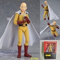 ONE PUNCH MAN Figma Saitama Sensei PVC Action Figures 160mm Anime ONE PUNCH-MAN Collectible Model Toy