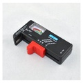 電池電量測試儀-檢測顯示器可測鈕扣3號4號充電電池-小吳