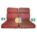 【 台製木椅專用坐墊】 L 型小組 木椅專用沙發椅墊 / 緹花布坐墊 / 木沙發墊