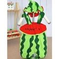 造型哈衣男女童寶寶衣服夏裝0-1歲半嬰兒裝(西瓜二件套)-7701007