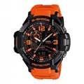 Casio G-Shock Men's Red Resin Strap Watch GA-1000-4A