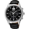 SEIKO 精工/CS 大日期視窗計時皮帶腕錶(42mm/7T04-0AE0C