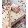 田園鄉村風 奇奇蒂蒂 雙人 單人 床包組 枕頭套 被套 床單 床包 日本 迪士尼 唐老鴨 民宿 佈置 裝飾 生日 禮物