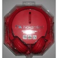 Nakamichi on the Ear Headphones Nk850 Red - intl
