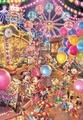 【進口拼圖】迪士尼 DISNEY-黃昏的遊樂園 夜光拼圖 300片 D-300-263