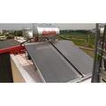 電控系統5年保固 高效能 開放桶 森林太陽能熱水器 2片300公升(含電熱+微電腦+基本安裝)年終特惠 加贈石灰質抑制器