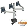 FOGIM 夾桌懸臂式液晶螢幕支架(三螢幕)