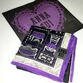 (全新友人贈送)日本ANNA SUI 限量版絲巾領巾圍巾