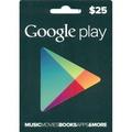 895元 超商繳費 美國 Google Play Gift Card $25 美元 禮物卡