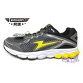 【巷子屋】ARNOR阿諾 男款Future-X零極限輕量運動慢跑鞋 [73214] 鋼鐵灰 超值價$498【樂天會員限定 | 03/01-03/31單筆滿1000元結帳輸入序號『Spring100』現折100元 | 限用一次】
