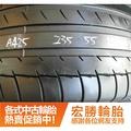 【宏勝輪胎】中古胎 落地胎 二手輪胎 型號:A425.235 55 17 米其林 PS2 4條 含工7000元