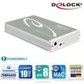 Delock 2.5吋Thunderbolt SATA 硬碟外接盒-42510