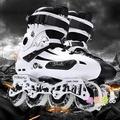 HOT溜冰鞋成人專業輪滑鞋成年全套直排輪花鞋旱冰花式男女閃光N17 型男原創館