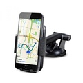 Car Mount EC Technology Universal Phone Holder 360 Degrees Rotation, Extendable Arm, Strong Sticky Gel Pad Car Mount for iPhone/Nexus/Samsung S6/S5 Note 5/4/3 Huawei P9 and Other Smartphones - intl