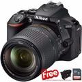 Nikon D5600 + 18-140mm Kit