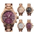 韓國GUOU閃耀鎂光真三眼金屬鍊帶手錶WGU8116璀璨之星
