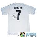 皇家馬德里 皇馬 C羅 親筆簽名球衣 足球服 羅納爾多 拉莫斯 集體