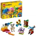 LEGO 樂高 Classic Bricks and Gears 10712 Building Kit (244 Pieces)