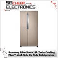 Samsung RS62K61A17P Twin Cooling Plus™ 620L Side By Side Refrigerator