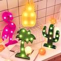 火烈鳥 紅鶴 鳳梨仙人掌椰子樹LED造型燈 裝飾燈 氣氛燈 小夜燈 【JI2009】  《Jami Honey》