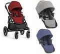 【淘氣寶寶】【黑框】Baby Jogger City Select 雙人推車+city select LUX 第二座椅