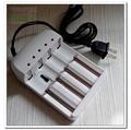 附線四槽多功能智能自停鋰電池充電器18650鋰電池充電器充電/可4段電壓調整