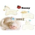 森林寶貝屋~Sozzy動物造型定型枕~有機彩棉嬰兒定型枕頭~寶寶糾正睡姿枕頭~兒童小枕頭~兼顧仰睡和側睡~4款發售