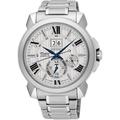 【SEIKO】SNP139J1 7D56-0AE0S精工 人動電能追時萬年曆時尚腕錶 白 42mm 台南 時代鐘錶