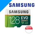 Samsung MicroSDXC EVO Select 128GB Class 10 U3 Memory Card for 4K (New version)