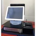 二手POS機(雙螢幕)一體成型POS機 /電子錢櫃/出單機1組/含POS軟體 (含建檔/教育訓練)