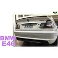 小亞車燈改裝*全新 BMW E46 98 99 00 01 改款前 4D M-TECH樣式 後保桿 後大包 素材