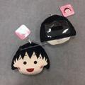 日本帶回 櫻桃小丸子 小丸子 伸縮 票卡夾 零錢包 吊飾